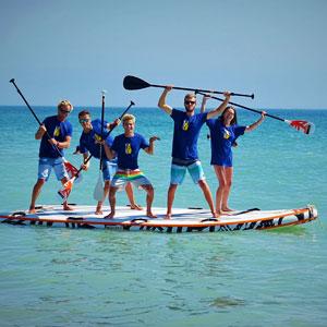 Bois Plage Sailing School Paddle Surf Windsurf Catamaran Sailing On The Island Of R